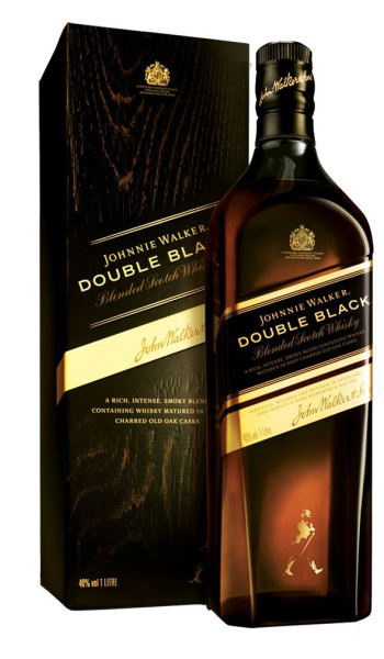Johnnie Walker Double Black 750 ml con estuche